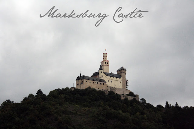Marksburg Castle on the Rhine - The Tipsy Terrier blog