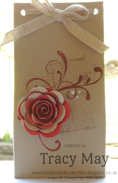Stampin Up Off the Grid Spiral Rose Everything Eleanor Tracy May
