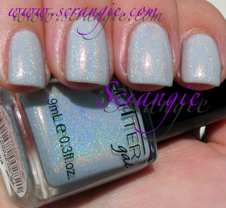 Scrangie: Glitter Gal 3D Holographic Nail Polish
