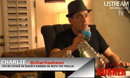 Charlie Sheen, Sheen's Korner