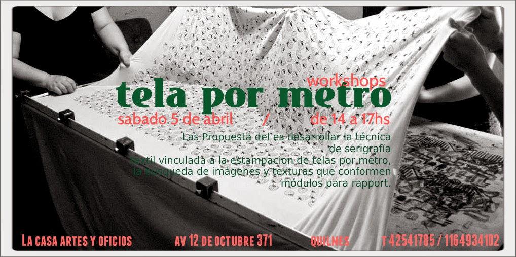 Lunar serigraf a taller de estampado textil en tela por metro for Tela mosquitera por metros