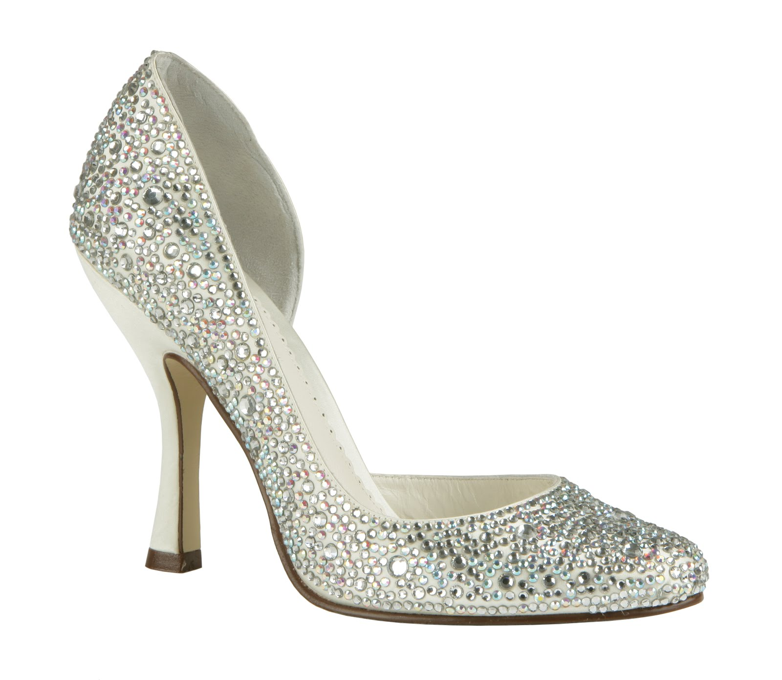 everything but the dress bling wedding shoes