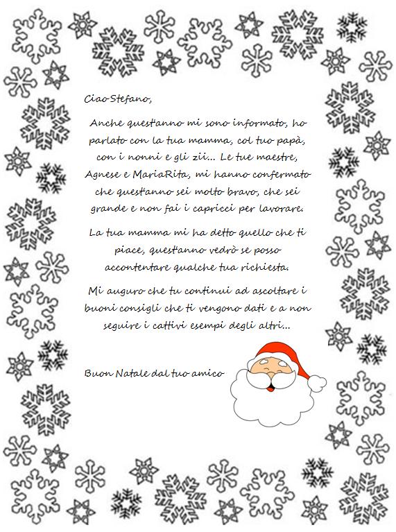 Amato Maestra MariaPaola: Una lettera da Babbo Natale DA84
