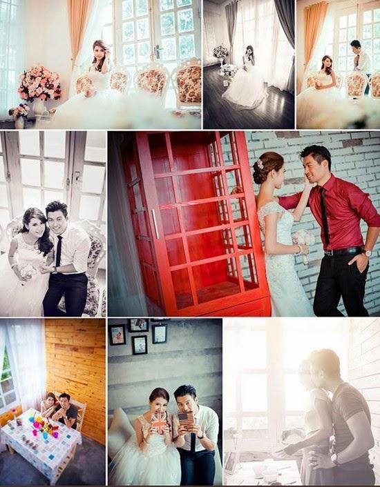Địa điểm chụp ảnh cưới trong nhà tại Hà Nội đẹp đang HOT9