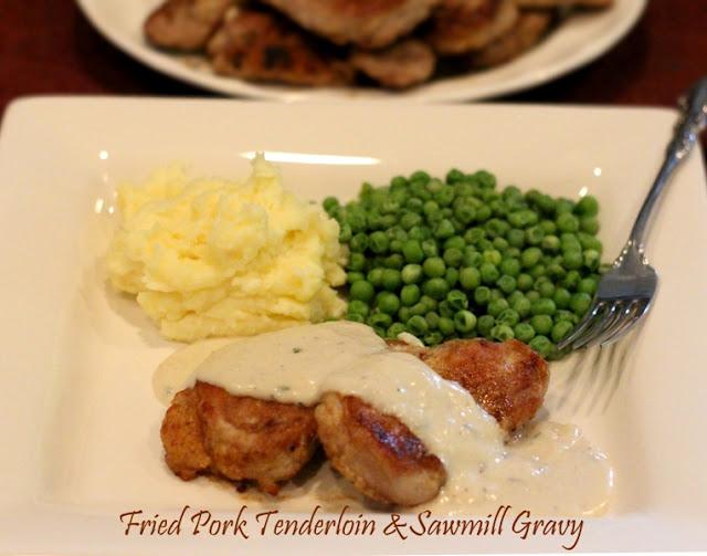 Melissa's Southern Style Kitchen: Fried Pork Tenderloin & Sawmill ...
