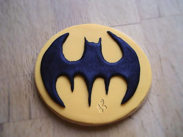 galletas, galletas fondant, fondant, batman, galletas de superhéroes, superhéroes