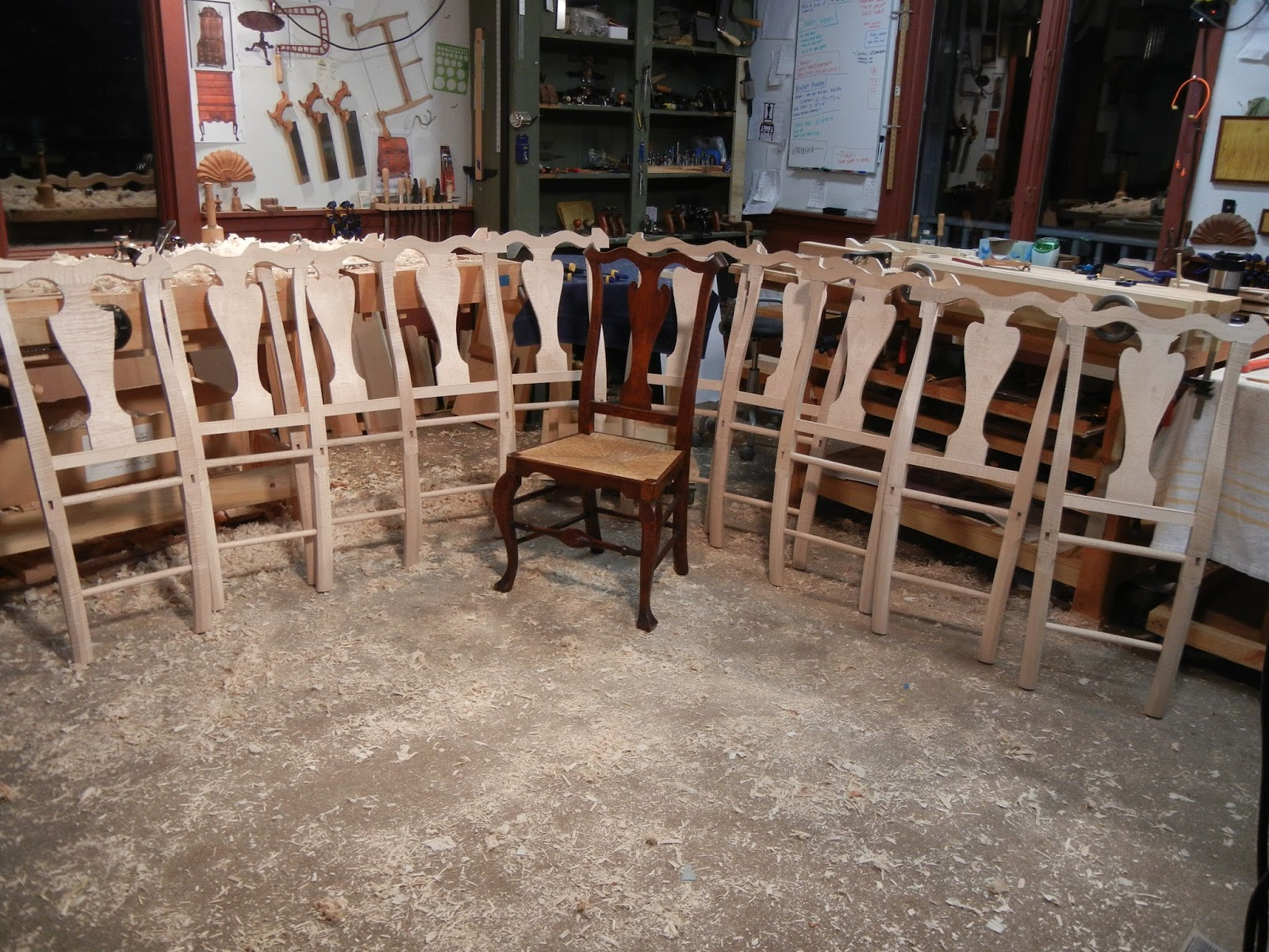 High End Reproduction Chairs Queen Anne Chippendale