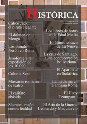 GRATIS el número de Noviembre Histórica, con articulo de El Cajón de Grisom