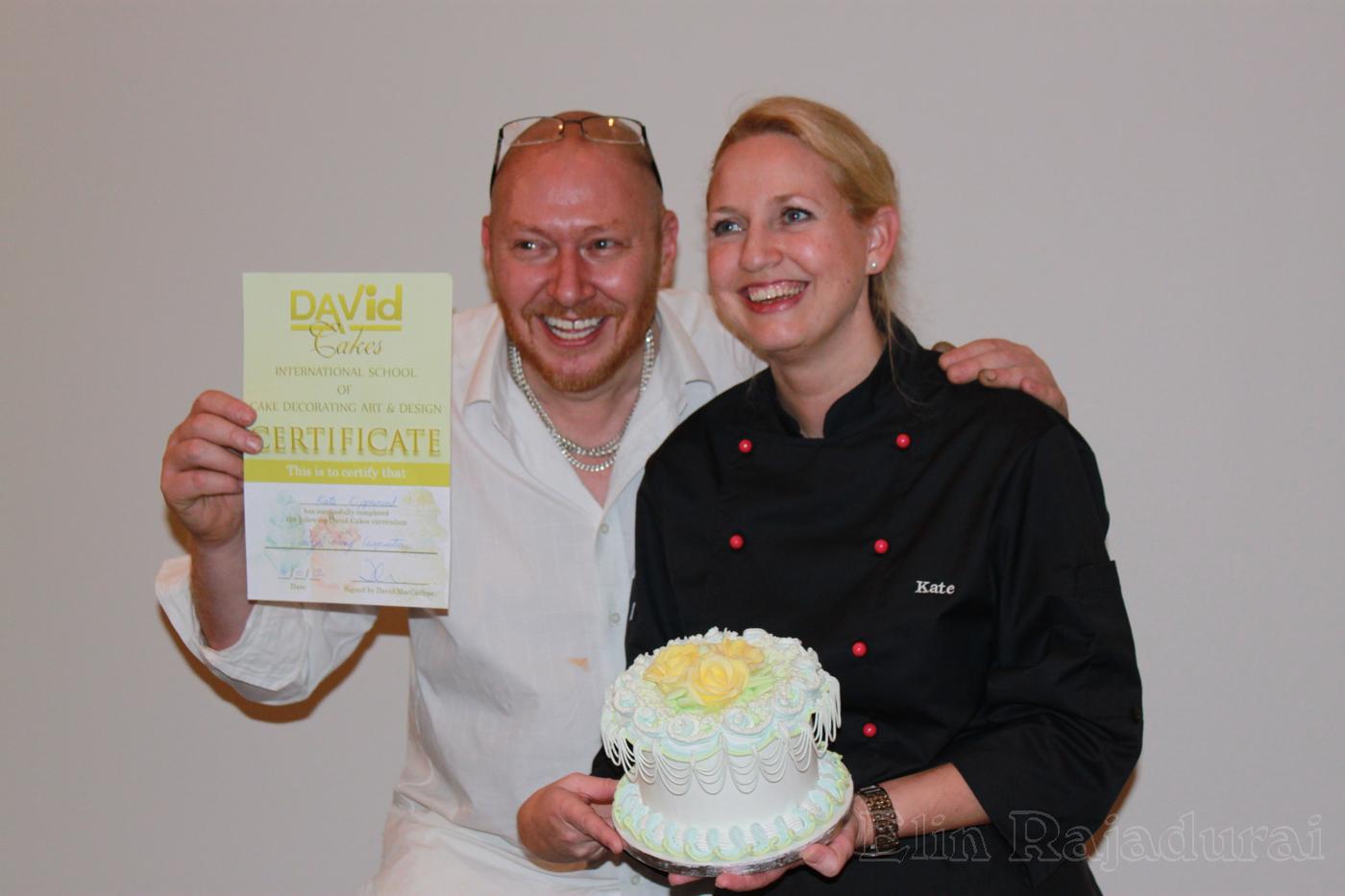 Elins Designkaker blogg: Cakeclasses in Bergen