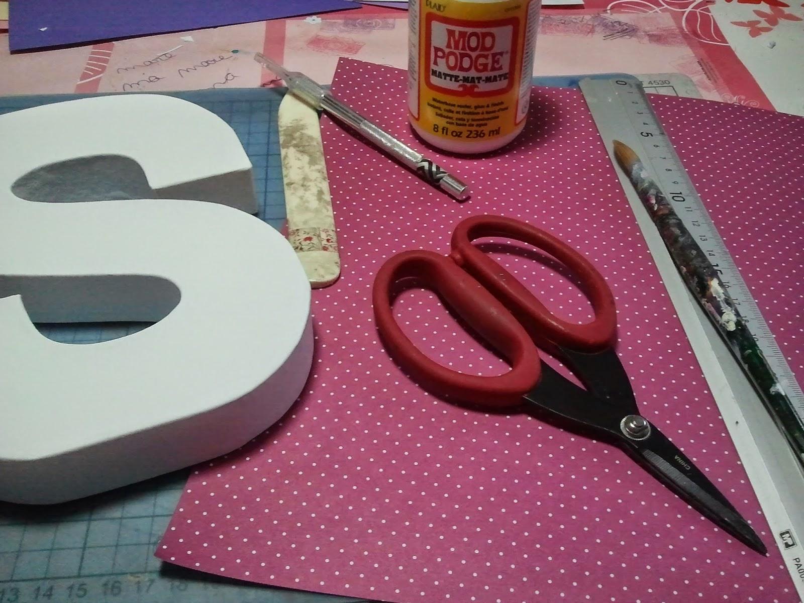 Forrando letras!