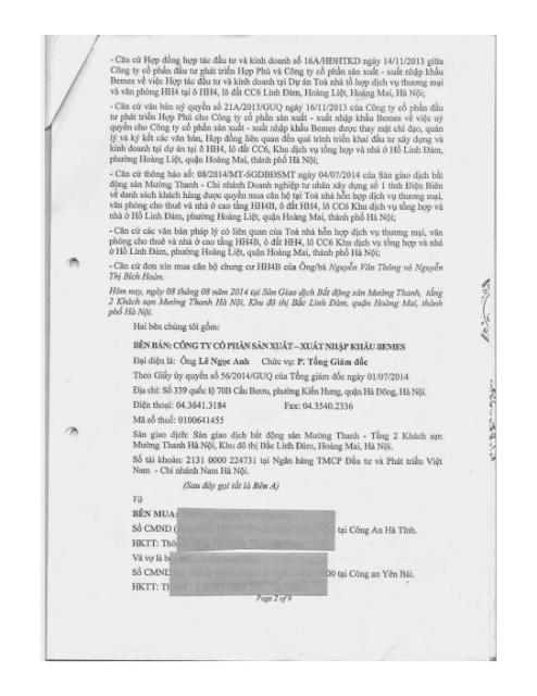 Trang 2 Chung cư hh3 linh đàm