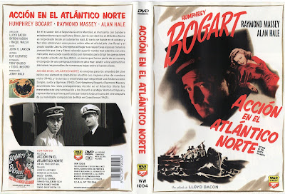 Cover, dvd, caratula: Acción en el Atlántico Norte | 1943 | Action in the North Atlantic