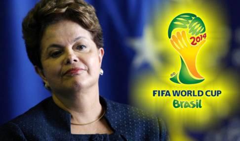 Dilma Roussef Brasil 2014