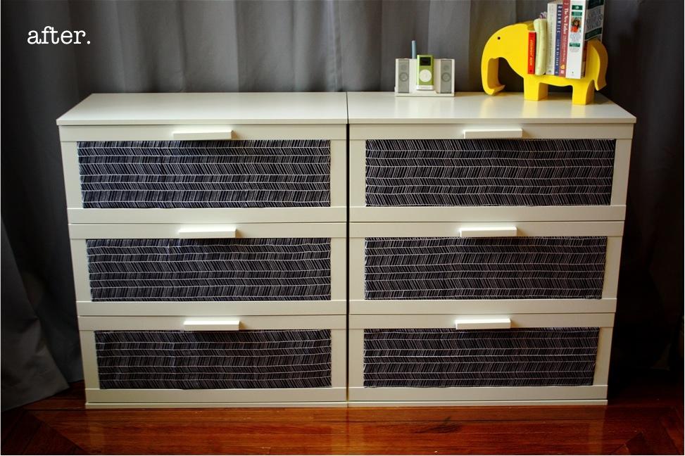 IKEA Aneboda Dresser Redesigned