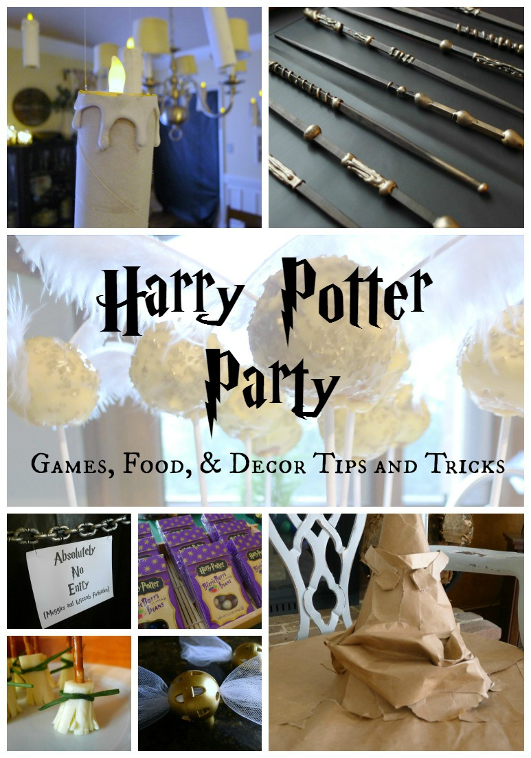 That Mommy Blog Harry Potter Party Games Food And Decor