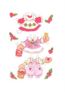 Vestidos de verano para tarta de fresa