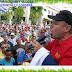 Masivo respaldo popular al periodista Jhonny Alberto Salazar, en Nagua