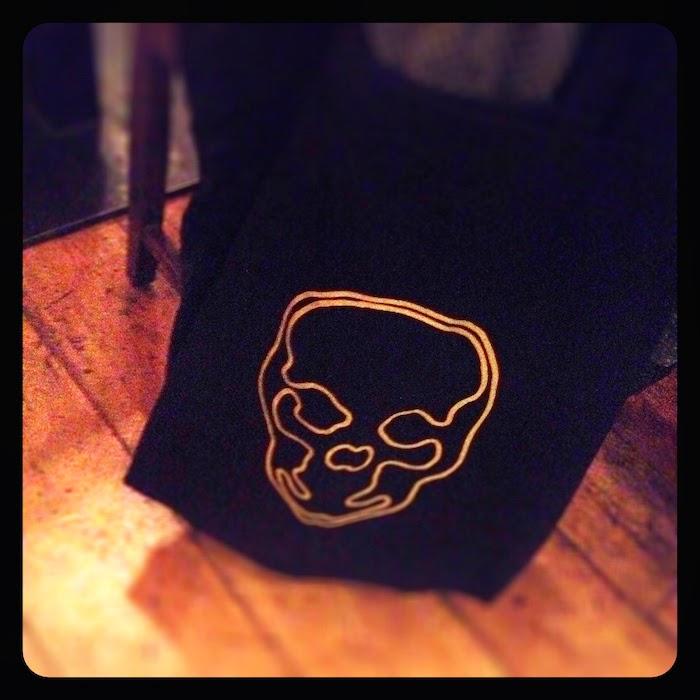 Iconclub Skull Jumbo Tote Bag