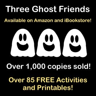 Check out the NEW BOOK - THREE GHOST FRIENDS FUN! FUN! FUN!