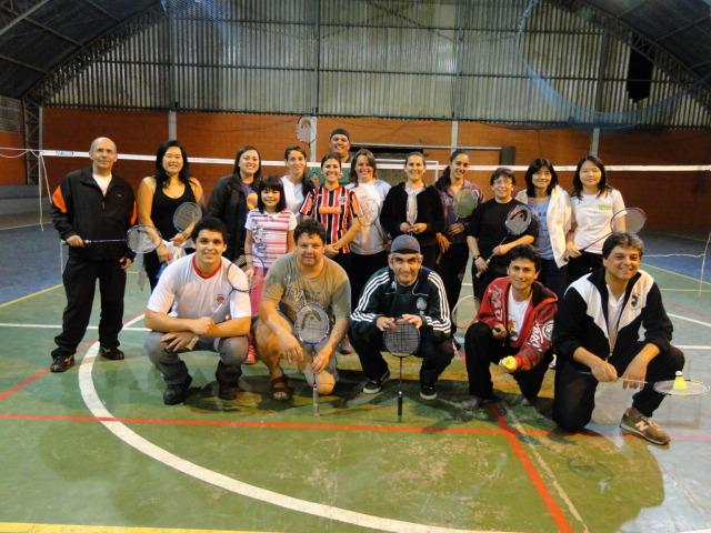 Capacitação Badmintons