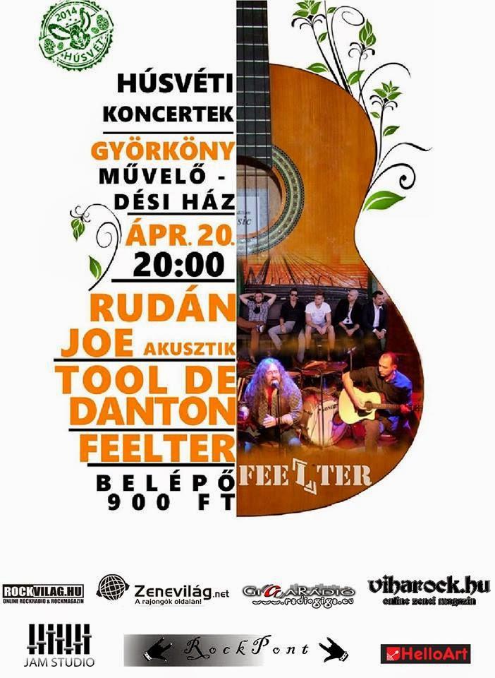 Tool De Danton - györkönyi koncert plakát,2014. / RockPont blog