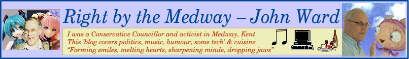 Right by the Medway  John Ward