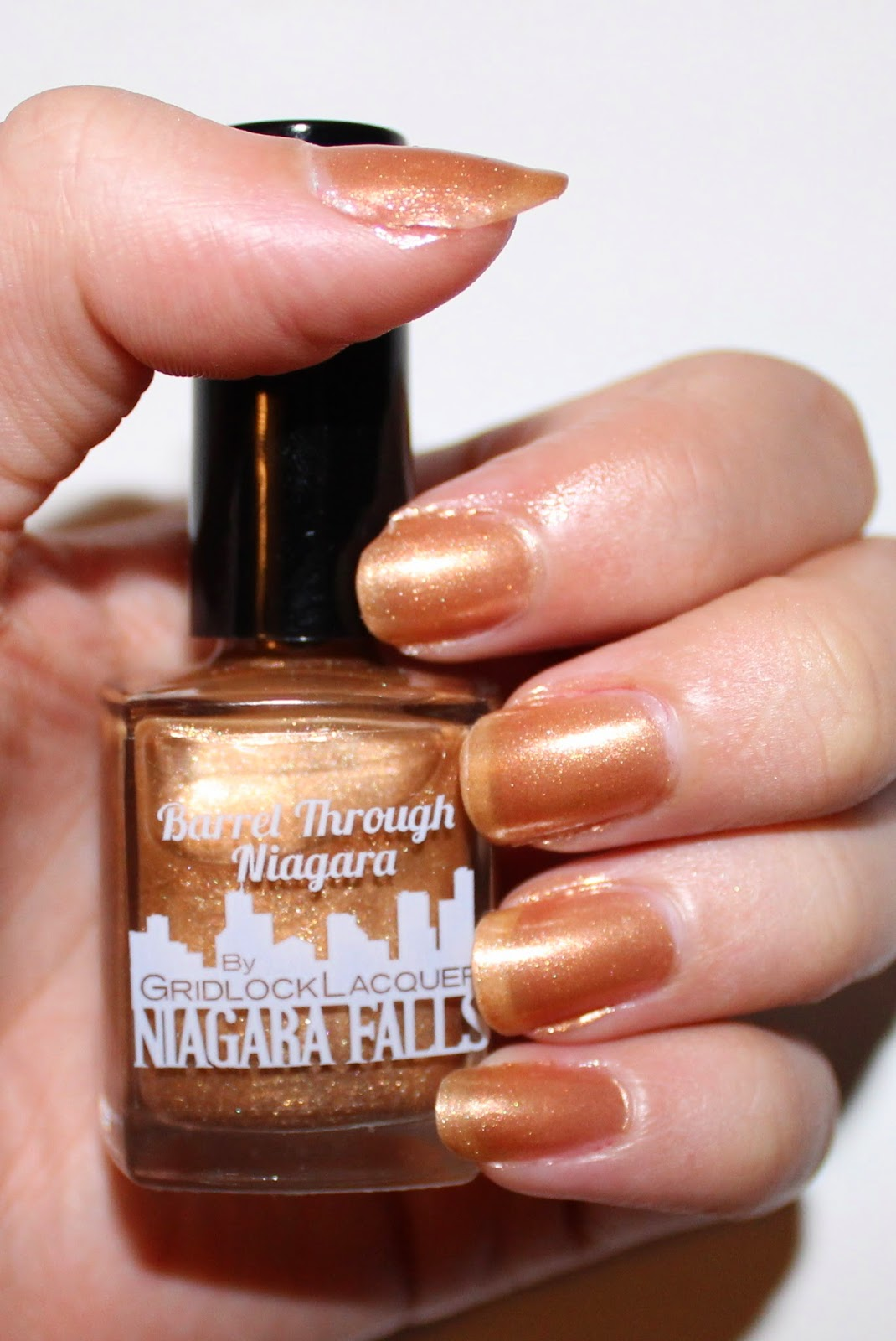Gridlock Lacquer Barrel Through Niagara