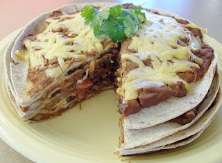 Slow Cooker Meatless Mexican Tortilla Pie