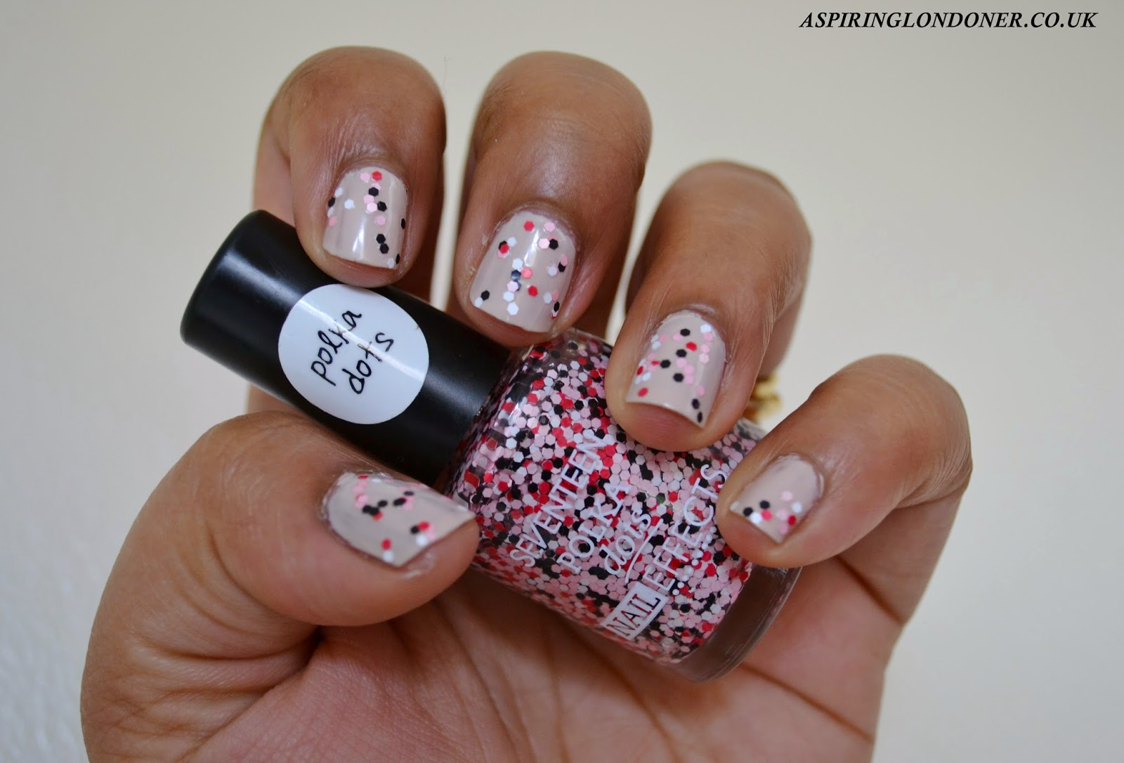 Seventeen Nail Effects Polka Dot Top Coat Limited Edition - Aspiring Londoner