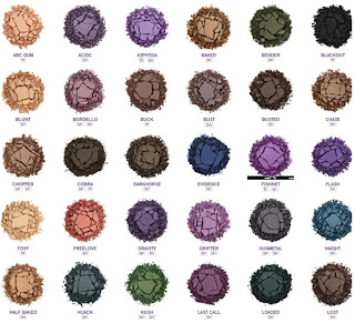 Urban decay eye shades