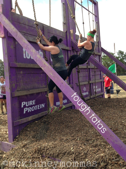 tough tatas, #athleta, mckinneymommas, #OwnYourStrong, mud run mom