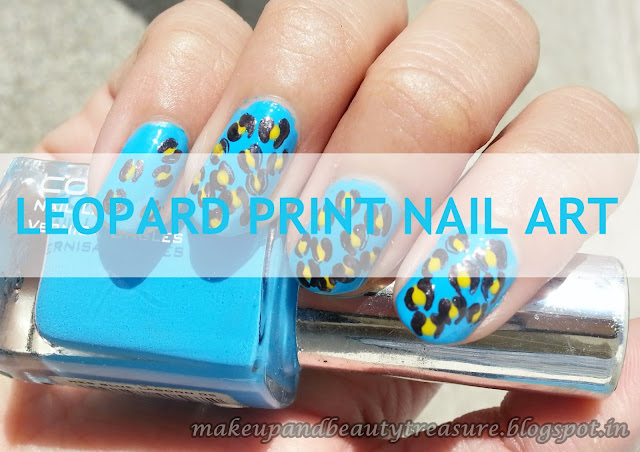 Leopard-Print-Nail-Art-Step-By-Step