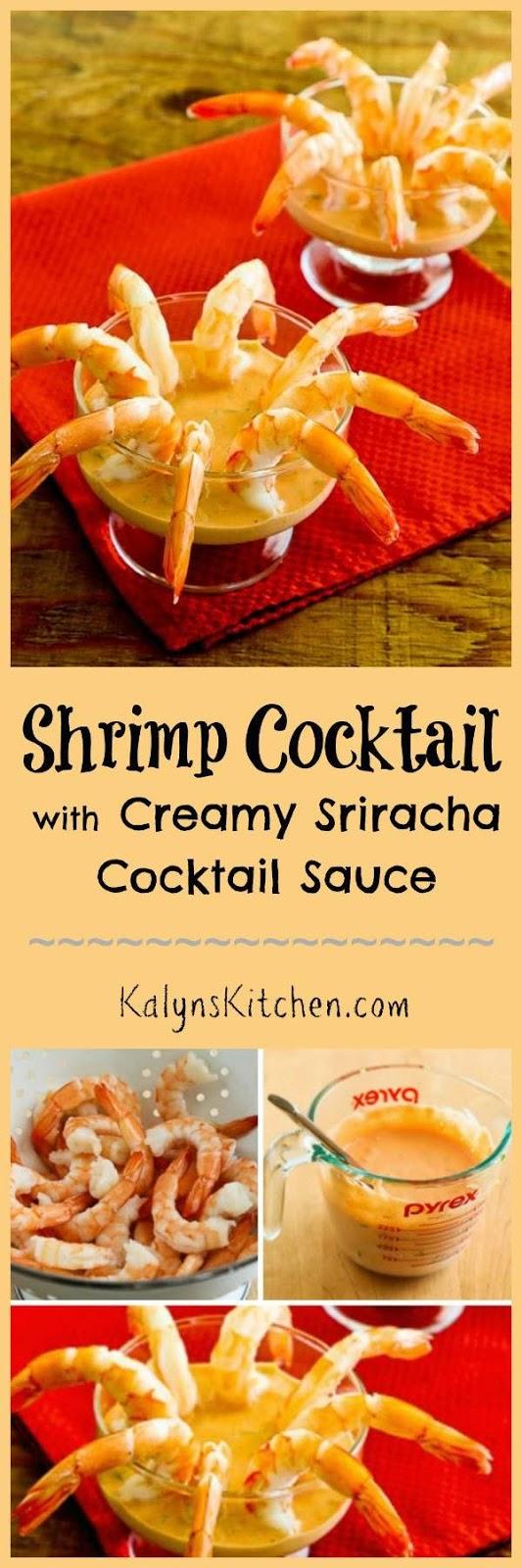 Shrimp Cocktail with Low Sugar Cocktail Sauce ~ Kalyn's Kitchen
