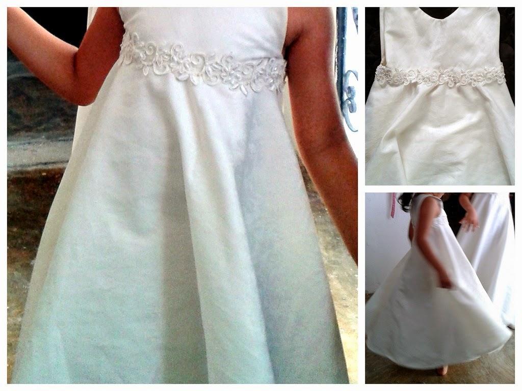 Costura y confección para principiantes: vestido largo para niña ...