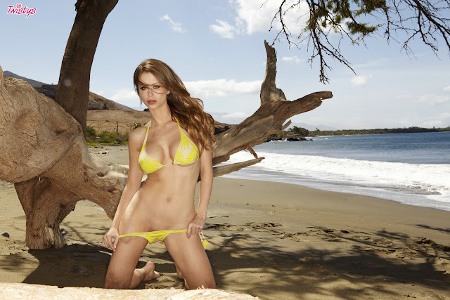 Emily Addison Sexy in Bikini