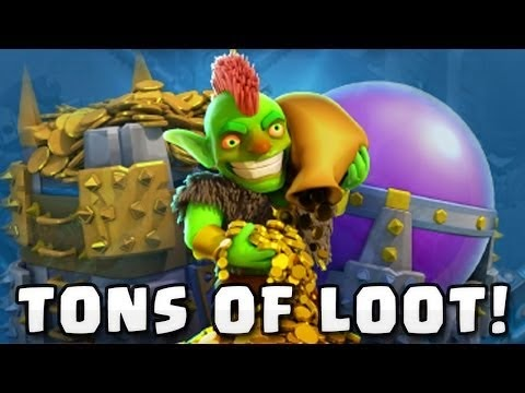 gold and elixir loots