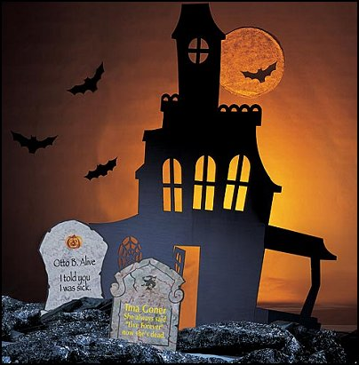 Decorating theme bedrooms maries manor halloween for How to decorate your house for halloween inside