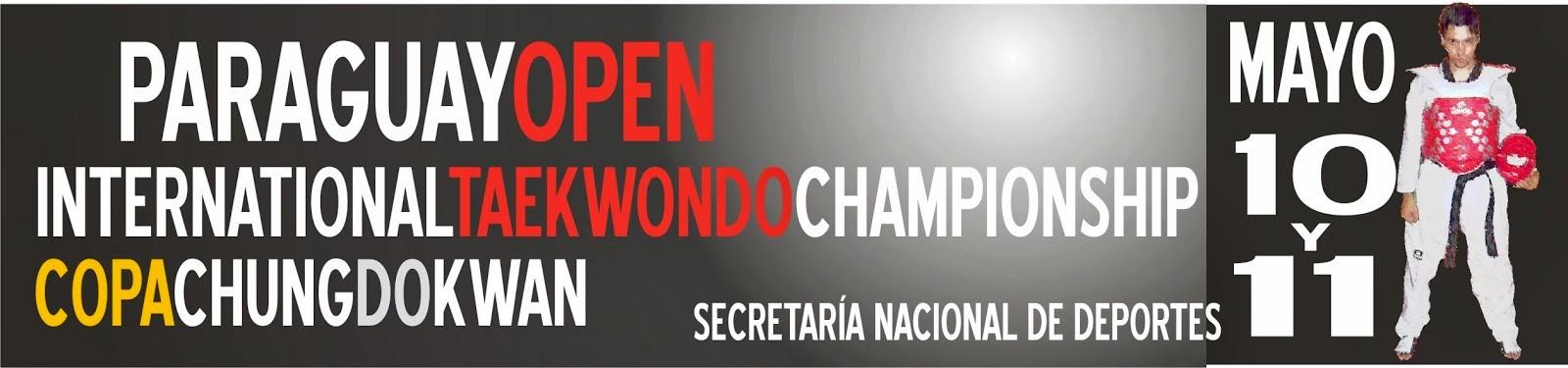 Sitio Oficial del Paraguay Open Taekwondo