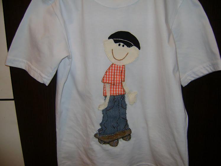 Camiseta Menino