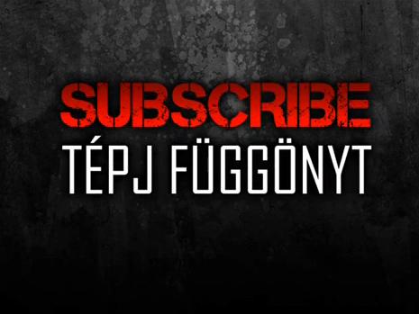 Subscribe - Tépj függönyt