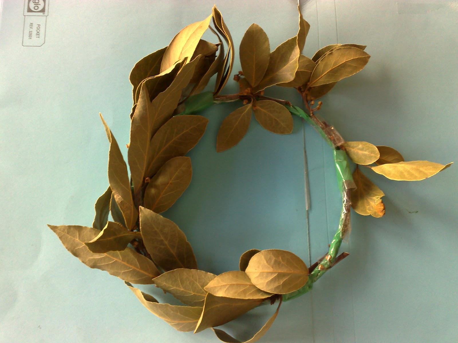 Resultado de imagen para corona de olivos