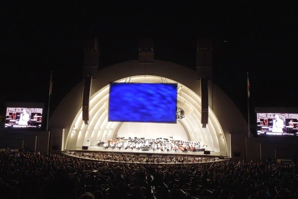 Holst's Planets Concert Hollywood Bowl 2014