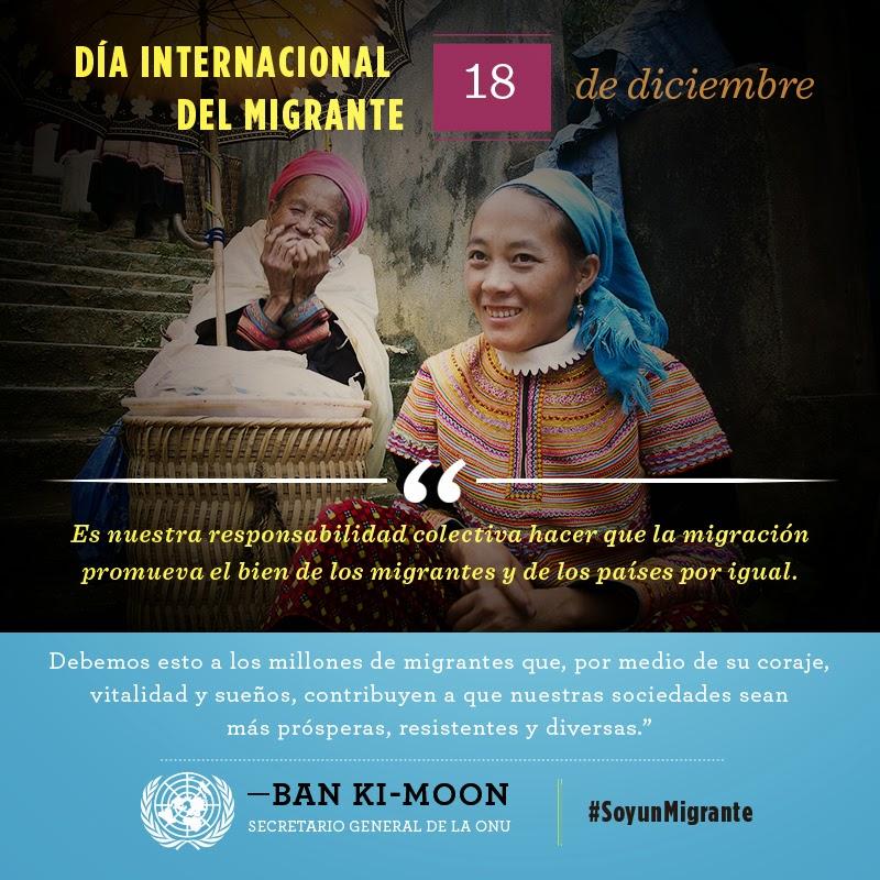 Campanya #IAmAMigrant de l'ONU
