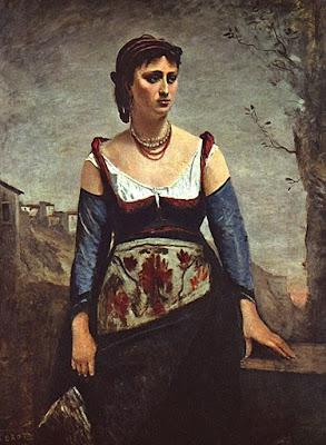 Corot - Agostina