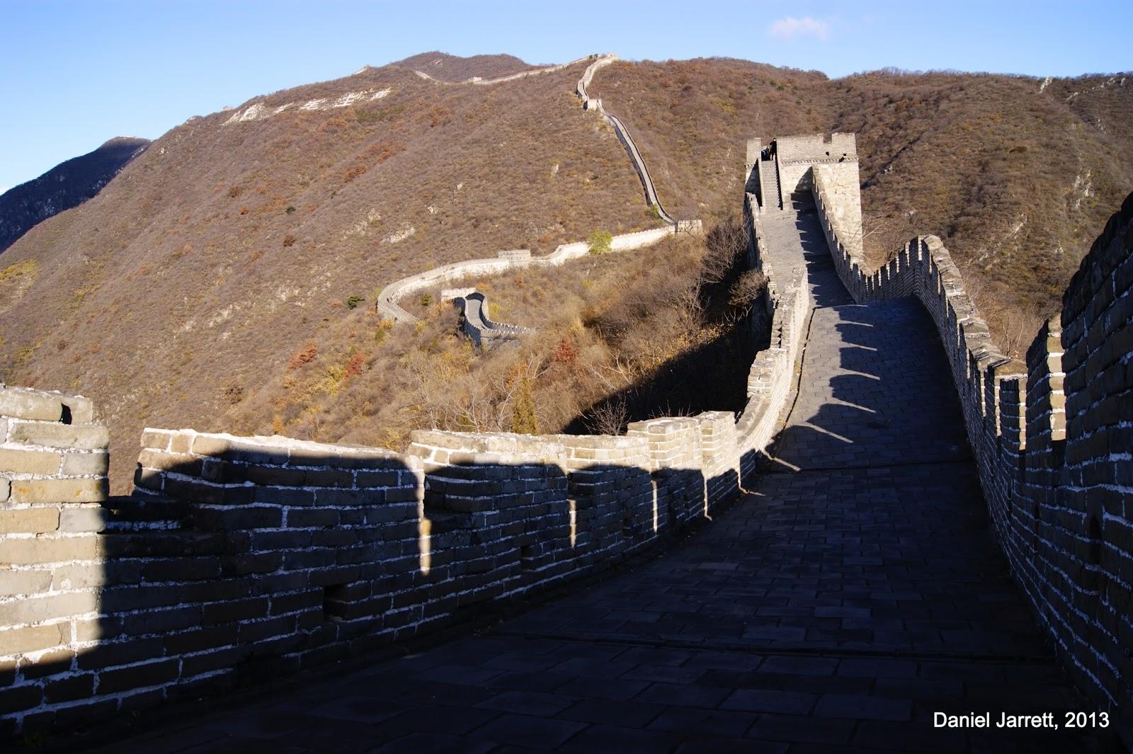 Great Wall Mutianyu Shadows