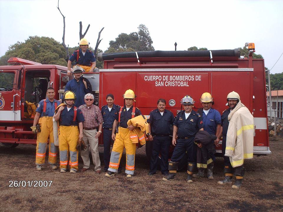 Noticias de Bomberos San Cristóbal