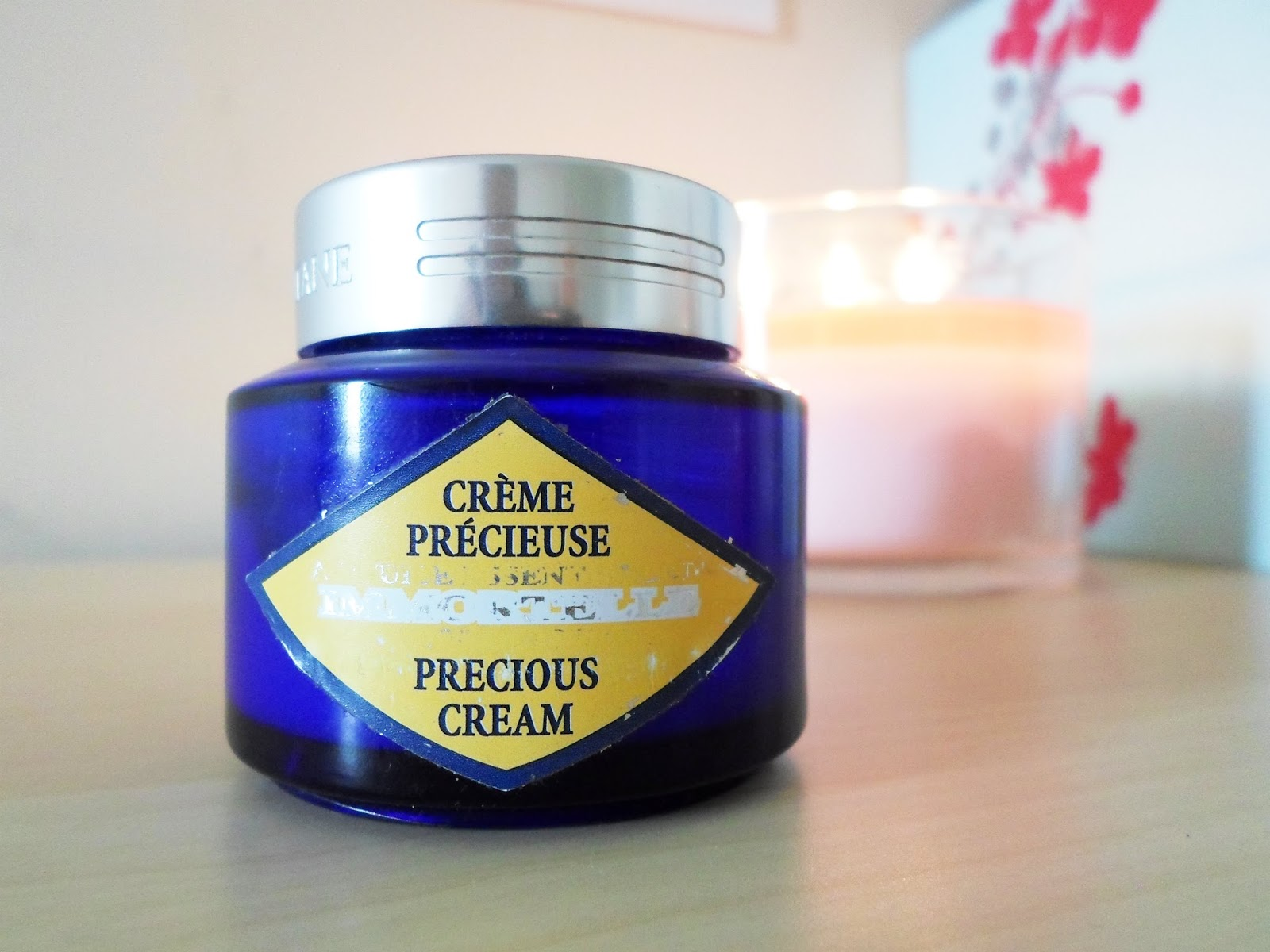 L'occitane immortelle precious cream review thebeautytype.com beauty blogger student blogger