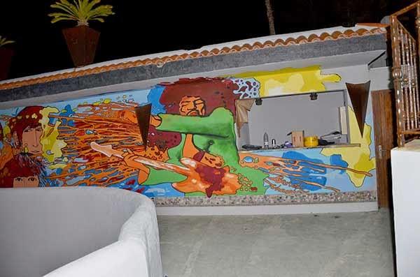 Graffiti profesional Ibiza