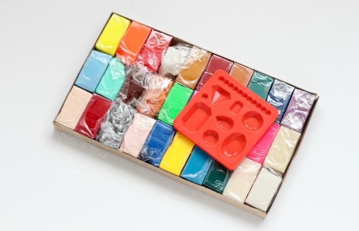 Marbled Clay Supplies www.pitterandglink.com