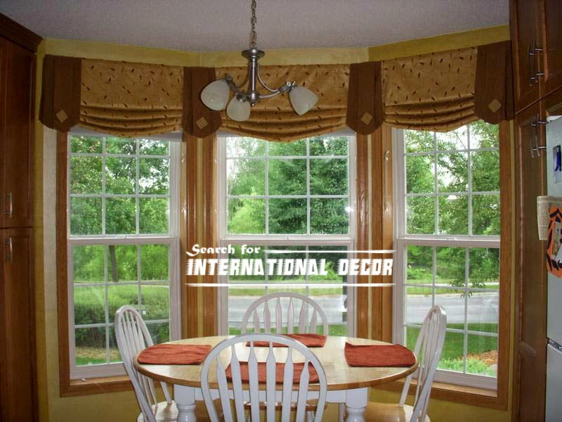 Design kitchen with bay window, basic tips | International decor